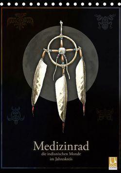 Medizinrad – die indianischen Monde im Jahreskreis (Tischkalender 2019 DIN A5 hoch) von Spangenberg,  Frithjof