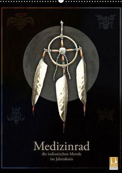 Medizinrad – die indianischen Monde im Jahreskreis (Wandkalender 2019 DIN A2 hoch) von Spangenberg,  Frithjof