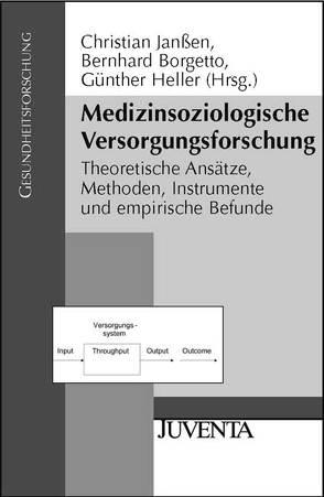 Medizinsoziologische Versorgungsforschung von Borgetto,  Bernhard, Heller,  Günther, Jansen,  Christian