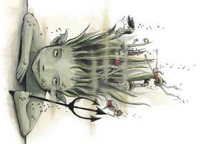 Medusa (Postkarten VE 10) von Bürger,  Martina