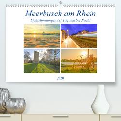 Meerbusch am Rhein – Lichtstimmungen bei Tag und bei Nacht (Premium, hochwertiger DIN A2 Wandkalender 2020, Kunstdruck in Hochglanz) von Hackstein,  Bettina