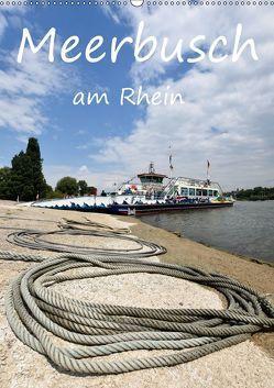 Meerbusch am Rhein (Wandkalender 2019 DIN A2 hoch) von Hackstein,  Bettina