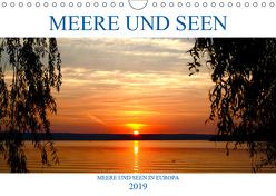 Meere und Seen (Wandkalender 2019 DIN A4 quer) von Jäger,  Anette/Thomas