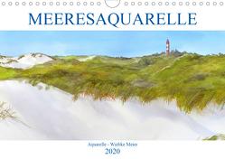 MEERESAQUARELLE (Wandkalender 2020 DIN A4 quer) von Meier,  Wiebke