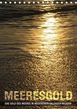 Meeresgold (Tischkalender 2019 DIN A5 hoch) von bilwissedition.com Layout: Babette Reek,  Bilder: