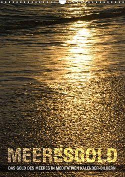 Meeresgold (Wandkalender 2019 DIN A3 hoch) von bilwissedition.com Layout: Babette Reek,  Bilder:
