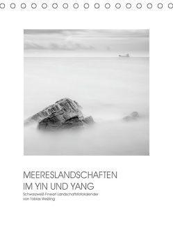 MEERESLANDSCHAFTEN IM YIN UND YANG (Tischkalender 2019 DIN A5 hoch) von Weßling,  Tobias