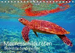 Meeresschildkröten – Bedrohte Schönheiten (Tischkalender 2018 DIN A5 quer) von Hess,  Andrea
