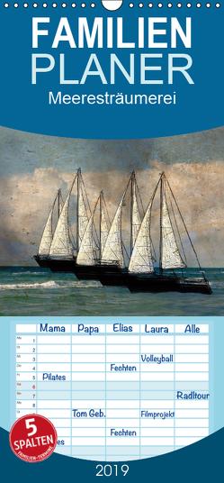 Meeresträumerei – Familienplaner hoch (Wandkalender 2019 , 21 cm x 45 cm, hoch) von Jäger,  Anette/Thomas
