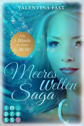 MeeresWeltenSaga: Alle 5 Bände der fantastischen Meerjungfrau-Reihe in einer E-Box! von Fast,  Valentina