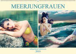 Meerjungfrauen – halbgöttliche Fabelwesen (Wandkalender 2019 DIN A2 quer) von Brunner-Klaus,  Liselotte