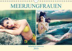 Meerjungfrauen – halbgöttliche Fabelwesen (Wandkalender 2019 DIN A4 quer) von Brunner-Klaus,  Liselotte