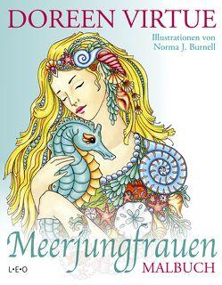 Meerjungfrauen Malbuch von Burnell,  Norma J., Görden,  Thomas, Virtue,  Doreen