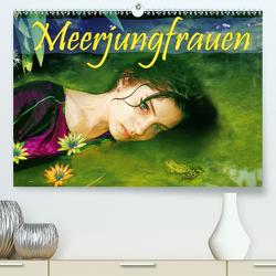 Meerjungfrauen (Premium, hochwertiger DIN A2 Wandkalender 2021, Kunstdruck in Hochglanz) von Brunner-Klaus,  Liselotte