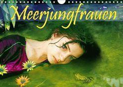 Meerjungfrauen (Wandkalender 2018 DIN A4 quer) von Brunner-Klaus,  Liselotte