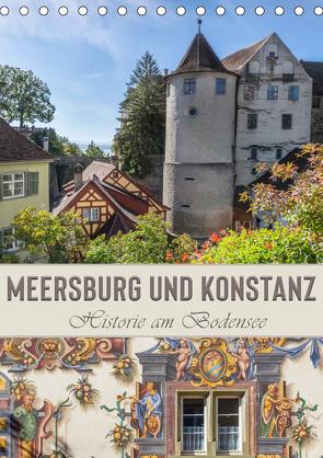 MEERSBURG UND KONSTANZ Historie am Bodensee (Tischkalender 2020 DIN A5 hoch) von Viola,  Melanie