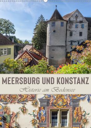 MEERSBURG UND KONSTANZ Historie am Bodensee (Wandkalender 2020 DIN A2 hoch) von Viola,  Melanie