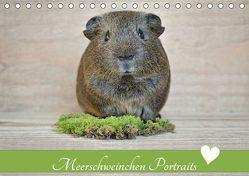 Meerschweinchen Portraits (Tischkalender 2019 DIN A5 quer) von Fischer,  Petra