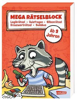 Mega Rätselblock von Kiefer,  Philip, Leuchtenberg,  Stefan