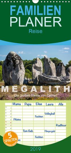 Megalith. Die großen Steine von Carnac – Familienplaner hoch (Wandkalender 2019 , 21 cm x 45 cm, hoch) von Benoît,  Etienne