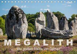 Megalith. Die großen Steine von Carnac (Tischkalender 2019 DIN A5 quer) von Benoît,  Etienne