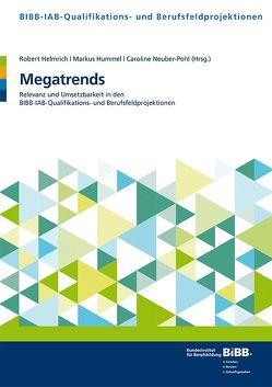 Megatrends von Bundesinstitut für Berufsbildung (BIBB), Helmrich,  Robert, Hummel,  Markus, Neuber-Pohl,  Caroline