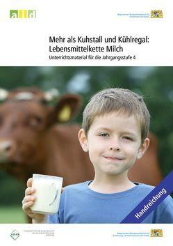 Mehr als Kuhstall und Kühlregal: Lebensmittelkette Milch – Unterrichtsmaterial für die Jahrgangsstufe 4 von Biberger,  Sabine, Martin,  Christine, Petersenn,  Daniela