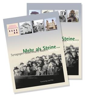 Mehr als Steine … Synagogen-Gedenkband Bayern von Dittscheid,  Hans-Christoph, Kraus,  Wolfgang, Schneider-Ludorff,  Gury