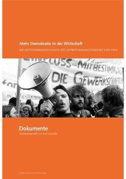 """Mehr Demokratie in der Wirtschaft /""""Dokumente"""" von Lauschke,  Karl"""