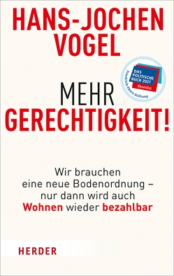 Mehr Gerechtigkeit! von Vogel,  Hans-Jochen