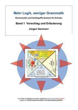 Mehr Logik, weniger Grammatik von Germann,  Jürgen