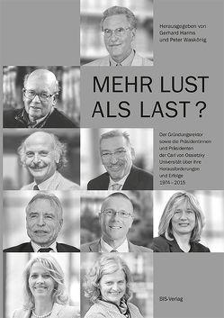 Mehr Lust als Last? von Harms,  Gerhard, Waskönig,  Peter