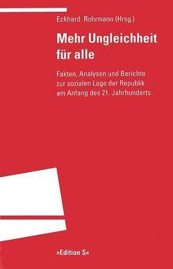 Mehr Ungleichheit für alle von Rohrmann,  Eckhard