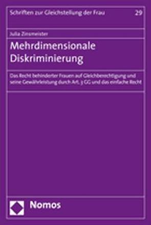 Mehrdimensionale Diskriminierung von Zinsmeister,  Julia