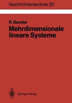 Mehrdimensionale lineare Systeme von Bamler,  Richard