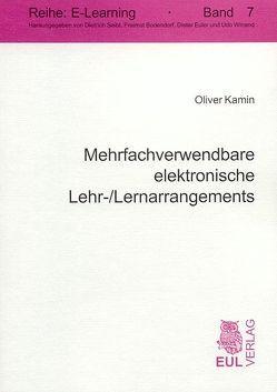 Mehrfachverwendbare elektronische Lehr- /Lernarrangements von Kamin,  Oliver, Schumann,  Matthias