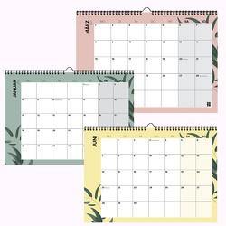 Mehrseitiger Design Wandkalender A4 quer, spiralisiert (2021) von Garschhammer,  Anja