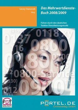 Mehrwertdienste-Buch 2008/2009 von Stanossek,  Georg