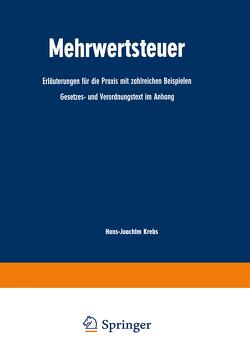 Mehrwertsteuer von Krebs,  Hans-Joachim