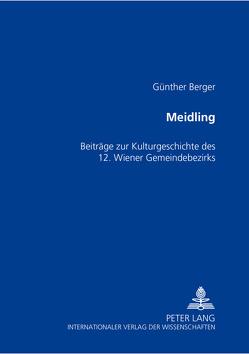 Meidling von Berger,  Günther
