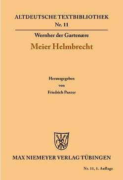 Meier Helmbrecht von Panzer,  Friedrich, Wernher der Gartenære