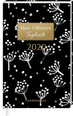 Mein 3 Minuten Tagebuch 2020 (Weiße Blüten)