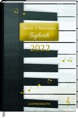 Mein 3 Minuten Tagebuch 2022 – Piano (All about music) von Sander,  Gesa
