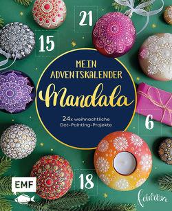 Mein Adventskalender-Buch: Mandala von Gries,  Anja