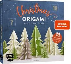 Mein Adventskalender-Buch: Origami Christmas von Berg,  Eva-Maria