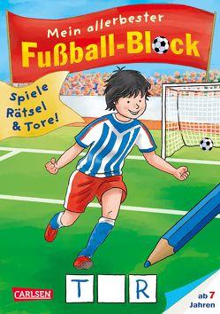 Mein allerbester Fußball-Block von Leintz,  Laura, Velte,  Ulrich