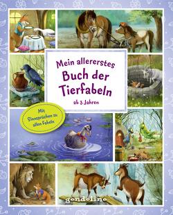 Mein allererstes Buch der Tierfabeln ab 3 Jahre von Krämer,  Marina, Nick,  Svenja