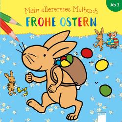 Mein allererstes Malbuch. Frohe Ostern von Münstermann,  Verena