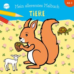 Mein allererstes Malbuch. Tiere von Heine,  Claudia