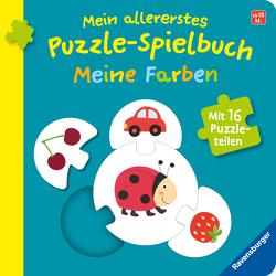 Mein allererstes Puzzle-Spielbuch: Meine Farben von Neubacher-Fesser,  Monika, Orso,  Kathrin